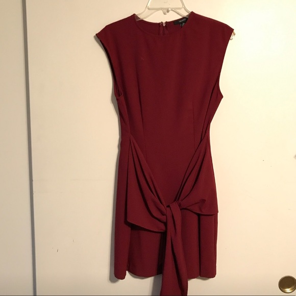 Forever 21 Dresses & Skirts - Red Front Tie Mini Dress